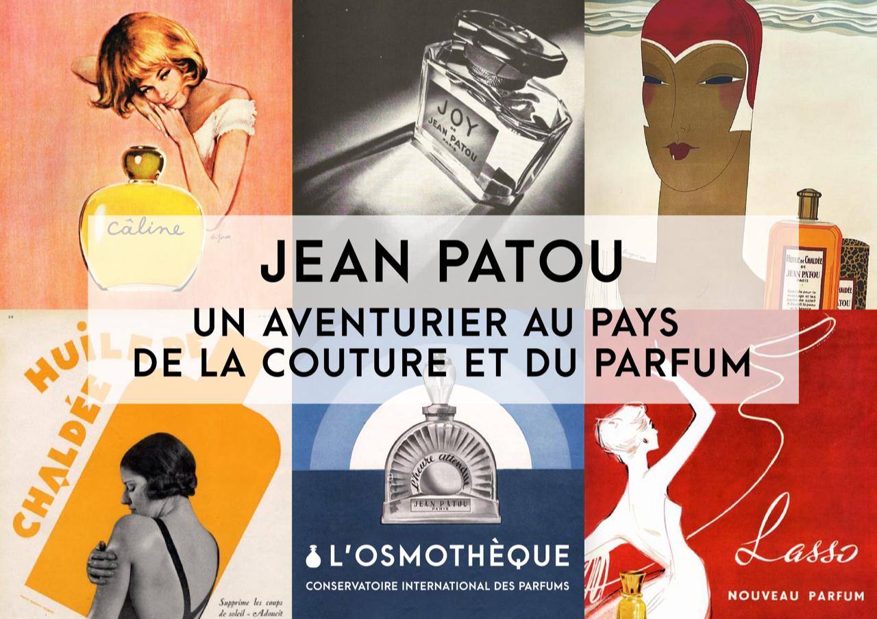 Conférence olfactive – La maison Patou